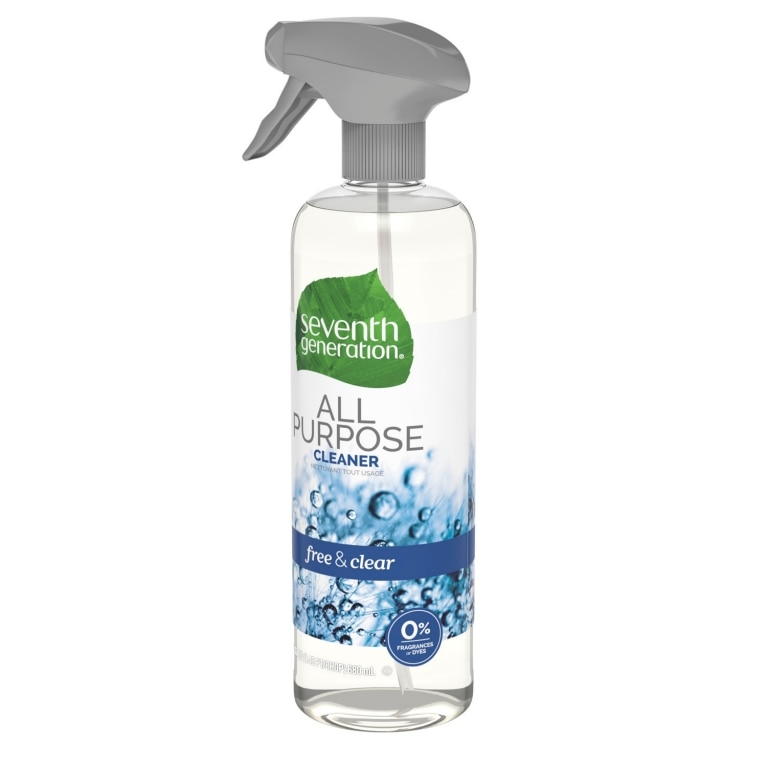 Right side of All Purpose Cleaner spray bottle