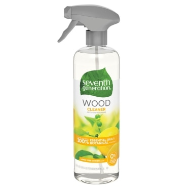 Front of Wood Cleaner spray bottle