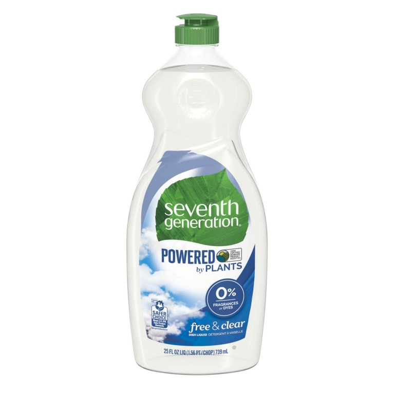 Front of Hand Dishwashing Liquid bottle