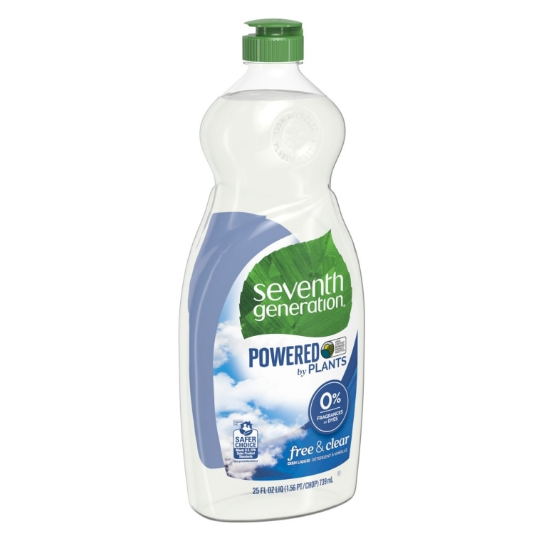 Left side of Hand Dishwashing Liquid bottle