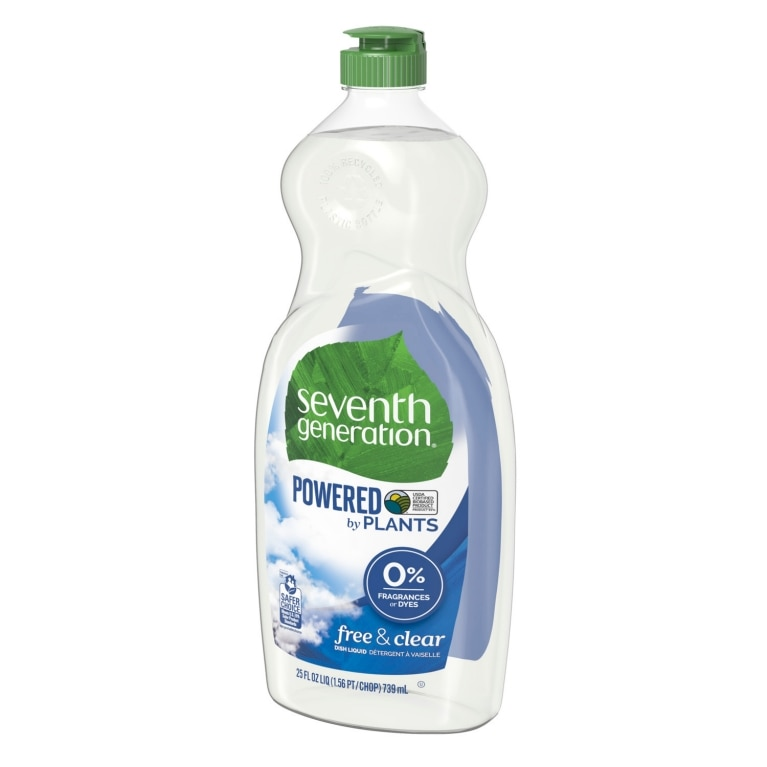 Right side of Hand Dishwashing Liquid bottle