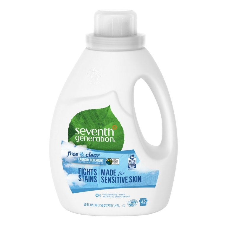 Front of Laundry Detergent bottle