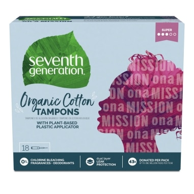 Front of Period Care Tampon package